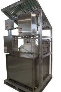 A 750 Odorizer turnkey system on a portable skid.